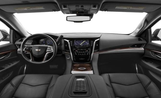NYC Cadillac Escallade interior