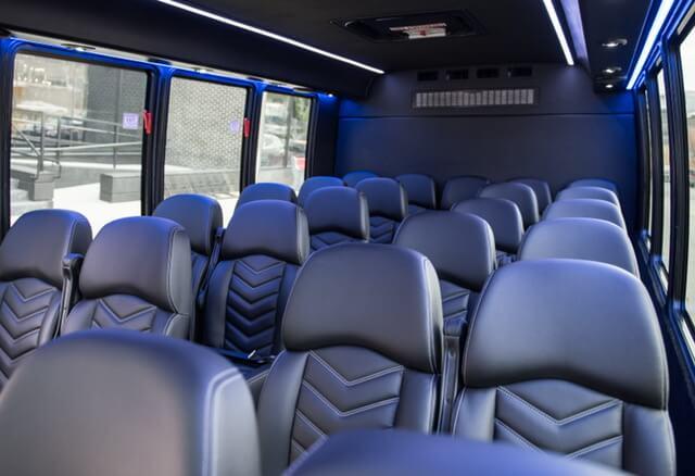 Mini Bus interior seats 24