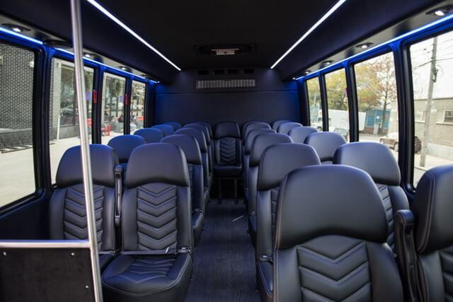 Mini Bus Interior for 24 people