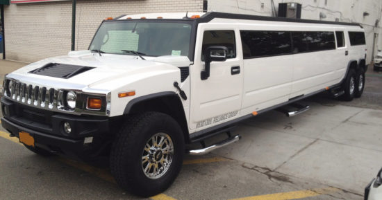 Hummer Stretch Limo White