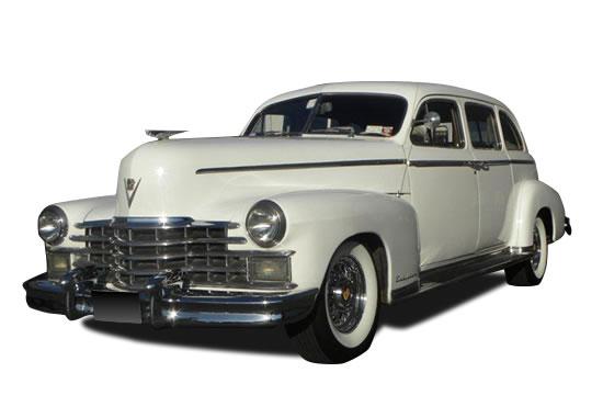 1949 Cadillac White